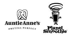 Auntie Anne's Pretzel Perfect / Planet Smoothie Logo