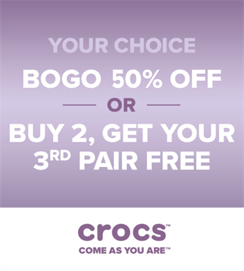 8fd6a768e273 Try On All New Crocs Reviva And Save  10! - Tanger Outlets