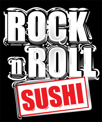 Rock N Roll Sushi Art