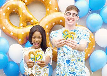 Auntie Anne's Pretzel Perfect Art