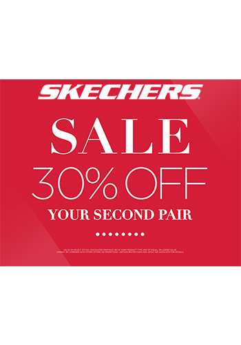 2b274a934 SKECHERS 30% OFF YOUR SECOND PAIR SALE - Tanger Outlets