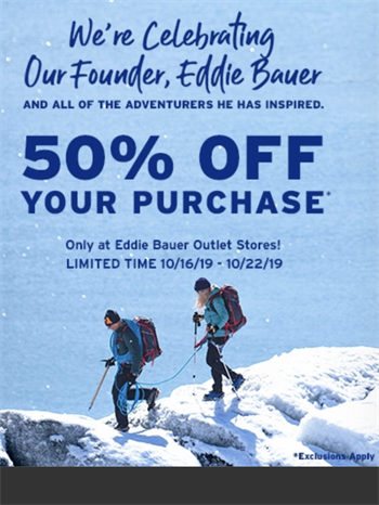 Eddie Bauer Outlet Art