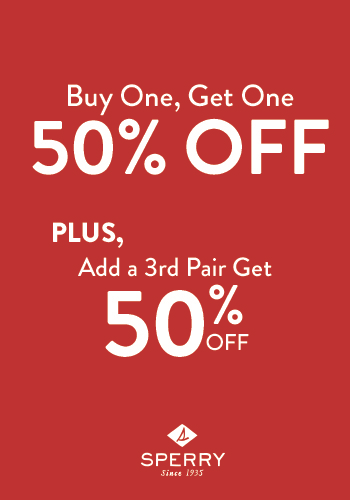 LIMITED TIME BOGO SAVINGS AT SPERRY! Art