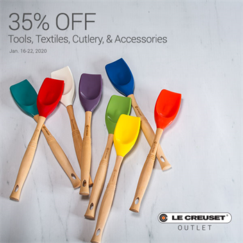 35% off Tools, Textiles, Cutlery & Accessories Art