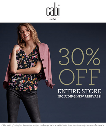 30% off the entire store! Art