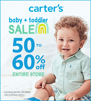 Baby + Toddler Sale 50-60% Off Entire Store  Art