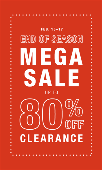 Celebrate President's Day with our end of season Mega Sale! Art