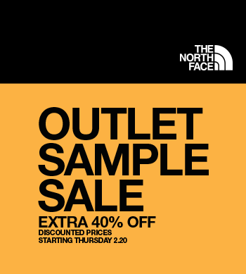 The North Face Outlet Sample Sale  Art