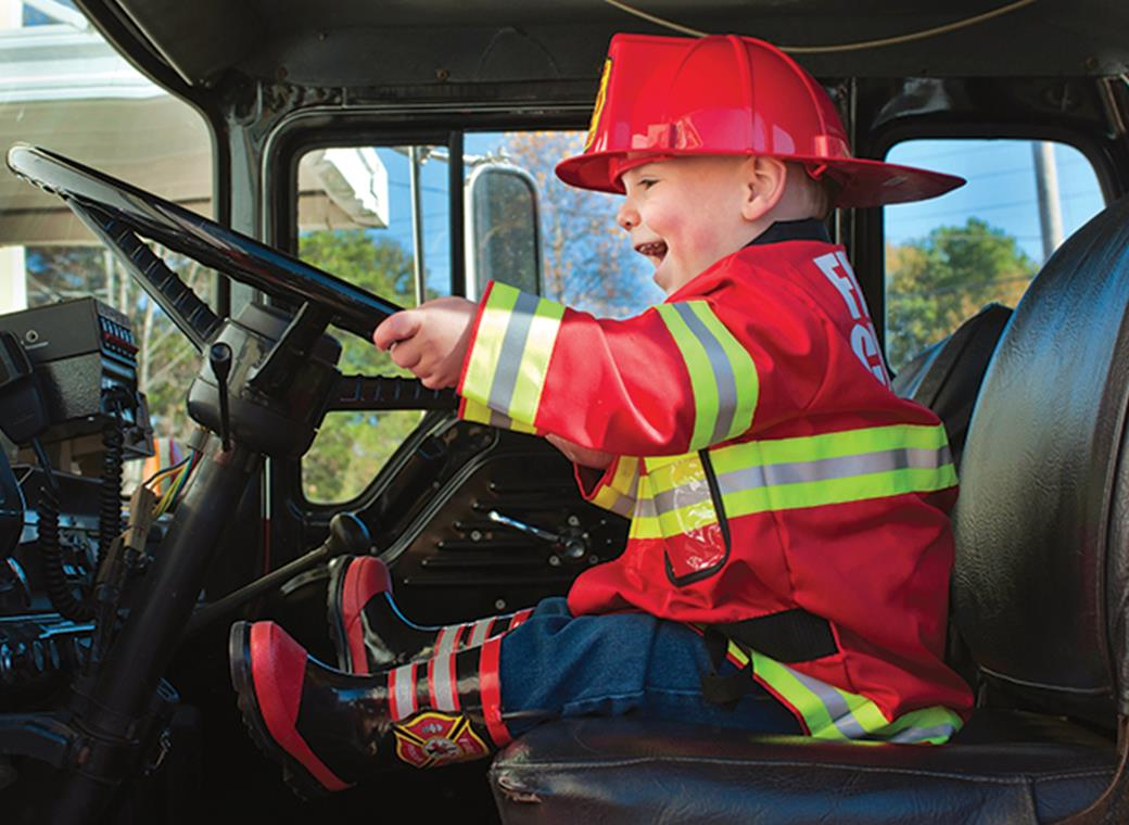 Hometown Heroes Touch-A-Truck Event